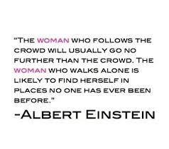 Einstein Walks Alone