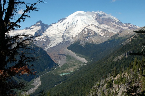 Mt. Rainier Glacier